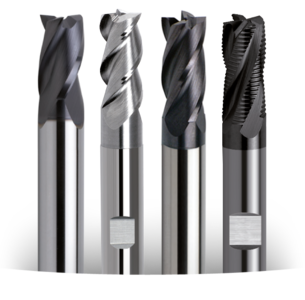 Three, Four and Six Flute End Mills