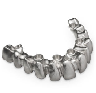 Screw-retained superstructures