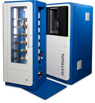 C5 with Automation | High Speed CNC Machines - DATRON