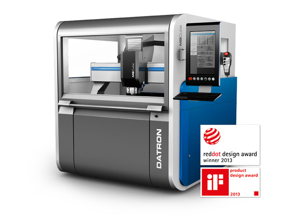Datron M8Cube CNC Milling Machine with reddot design award
