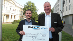 [Translate to it_it:] DATRON charity